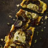 Roasted Onion & Goats Cheese Tart