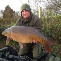 Chris with a good mirror