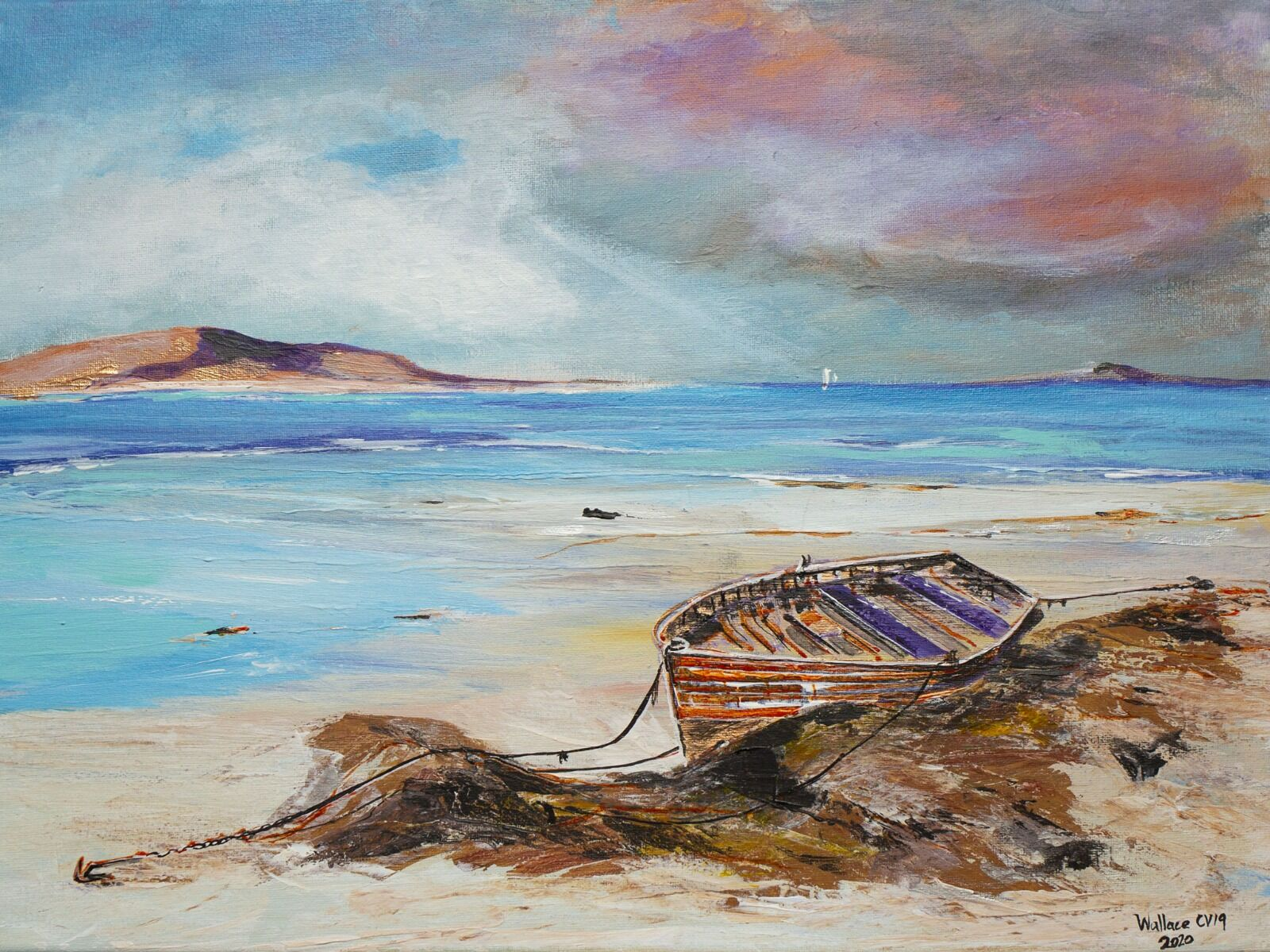 Old boat - Barra Scotland