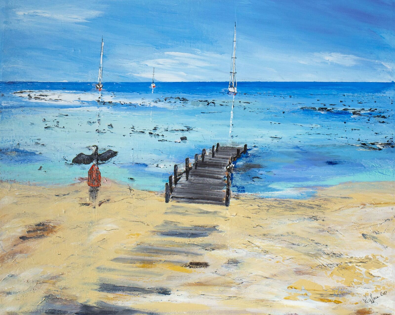 The old jetty - Anegada