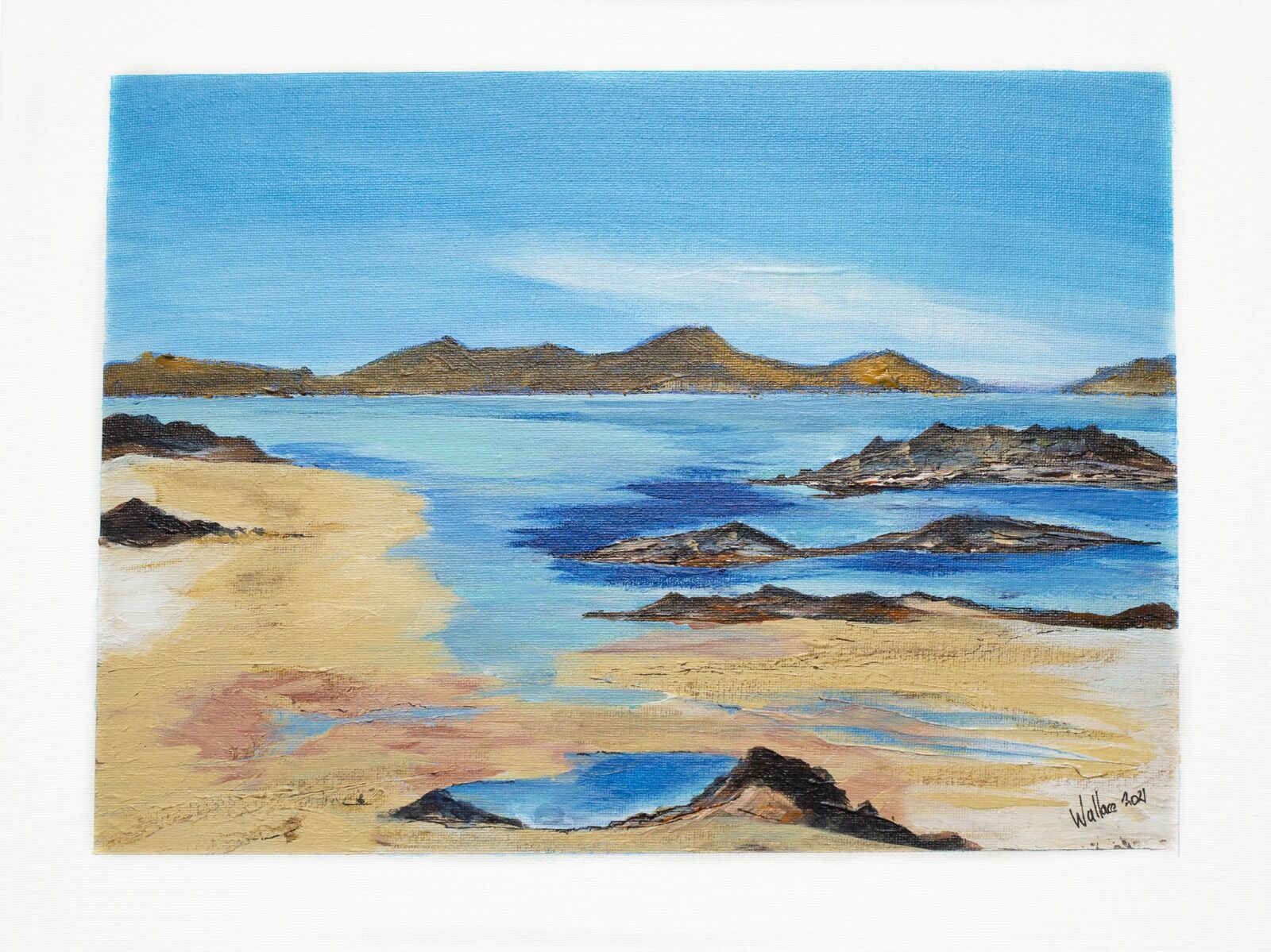 Sea and mountains - Outer Hebrides