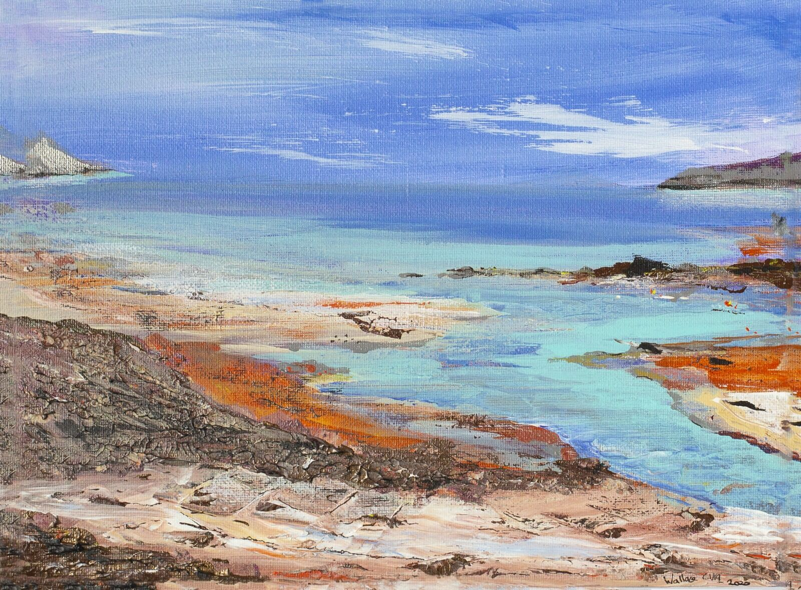 Mainland view - outer Hebrides