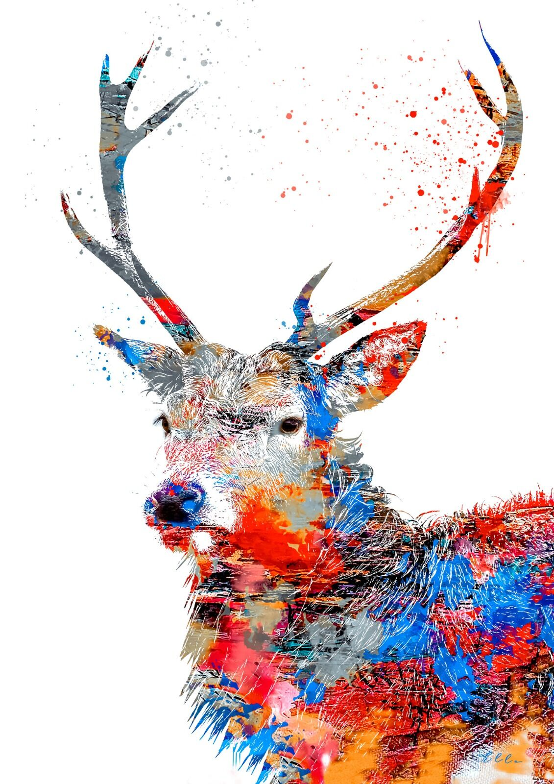 Abstract Stag