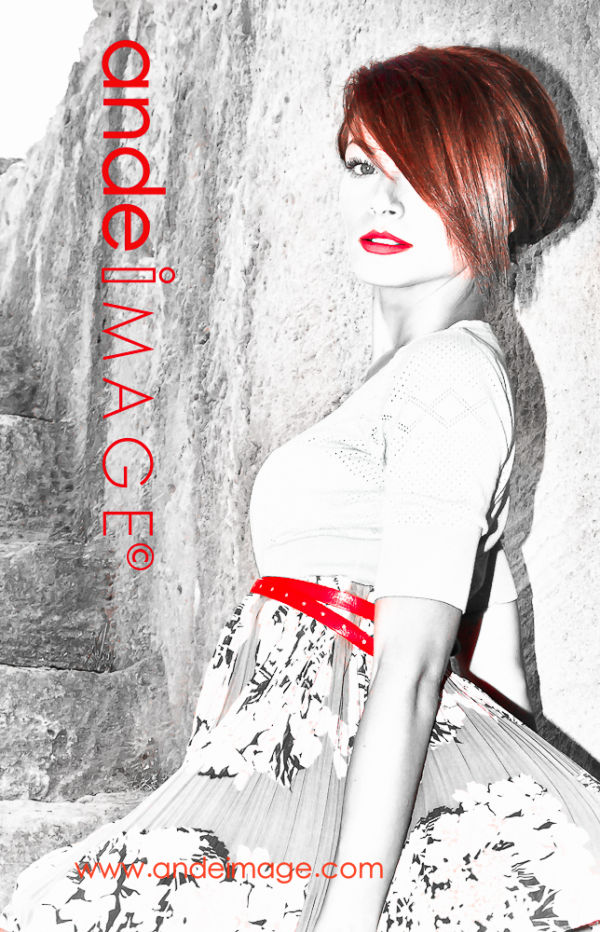 fashion cover girl : Ramona