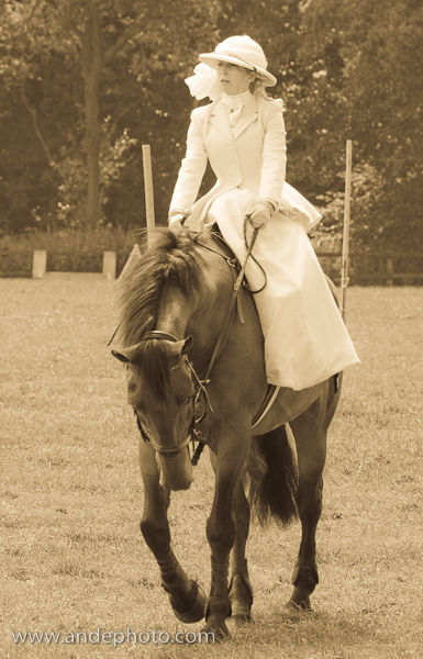 Lady on Horse 32L