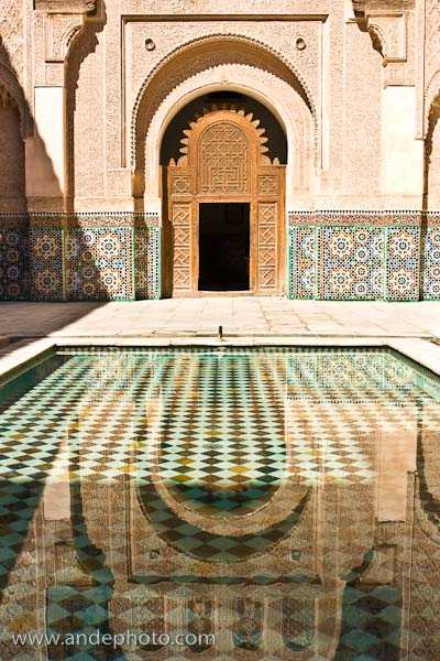 Morocco Reflection in Water 88L