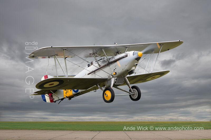 Biplane Hawker Nimrod