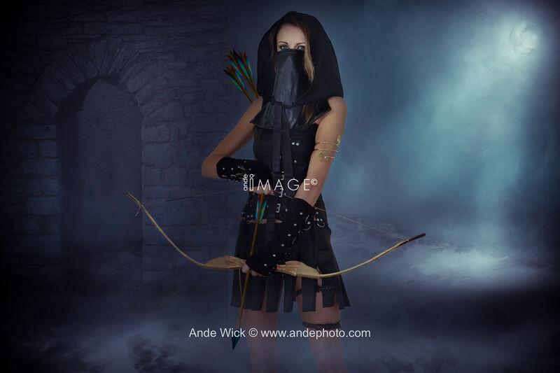 Bowman girl warrior
