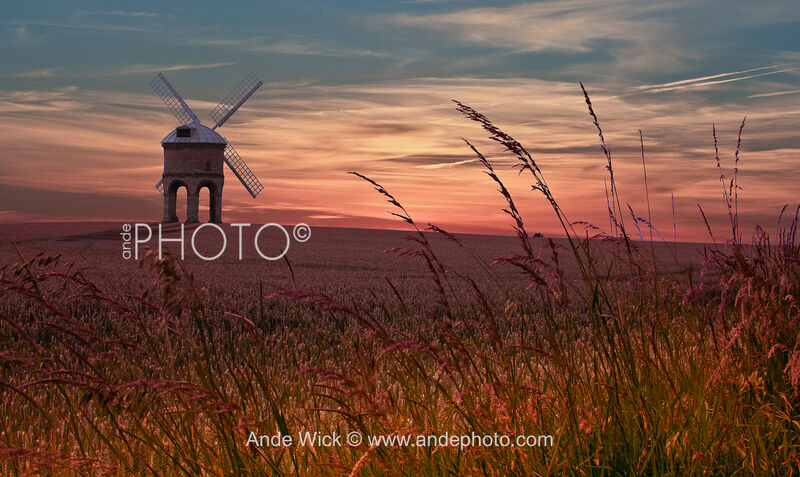 Sunset Chesterton Windmill