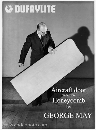 Honeycomb Aircraft door 01L