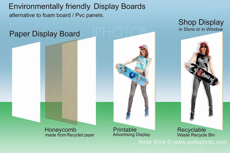 eco-friendly Display Boards