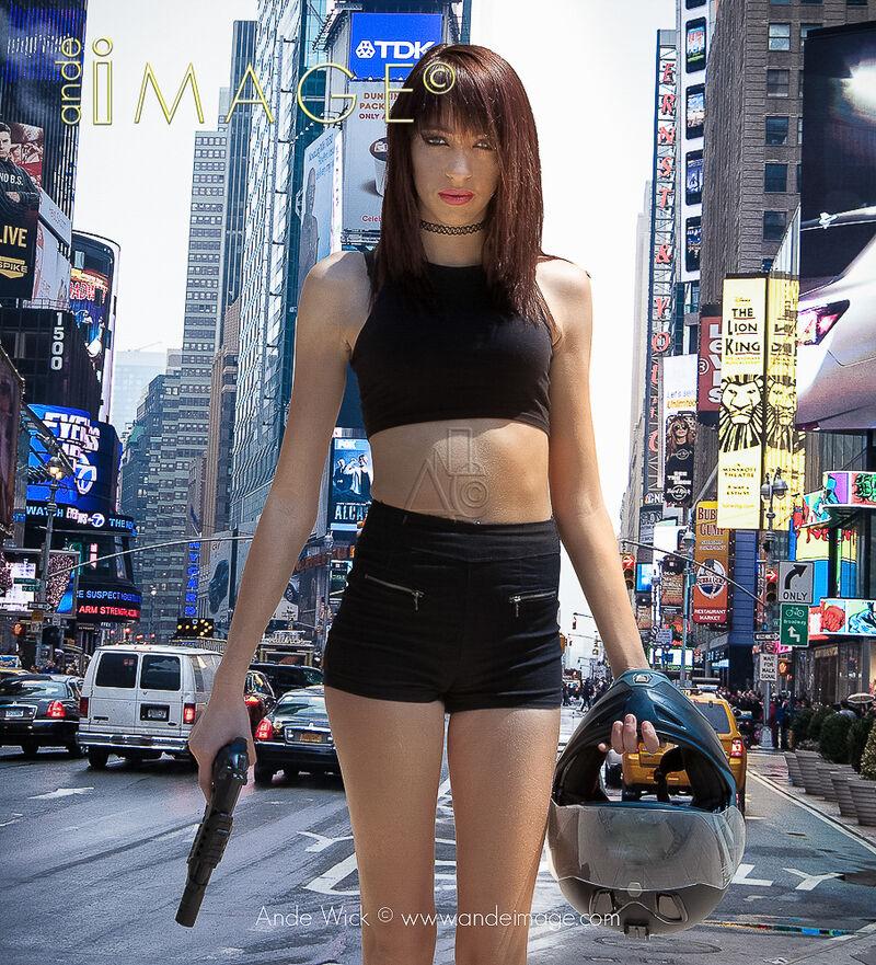 kick ass Girl New York