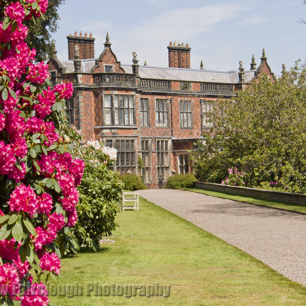 Arley Hall in Spring