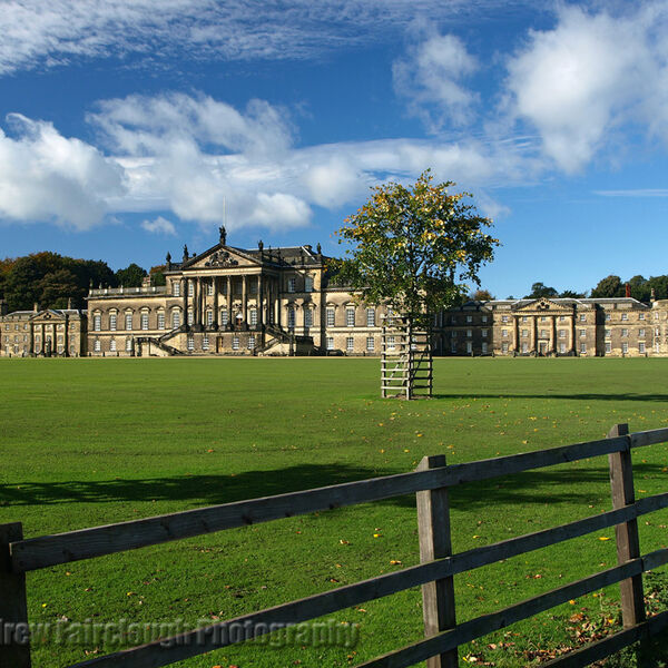 East Front Wentworth-Woodhouse - Late Summer