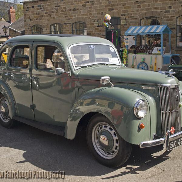 Ford Prefect (model E493A) 1953