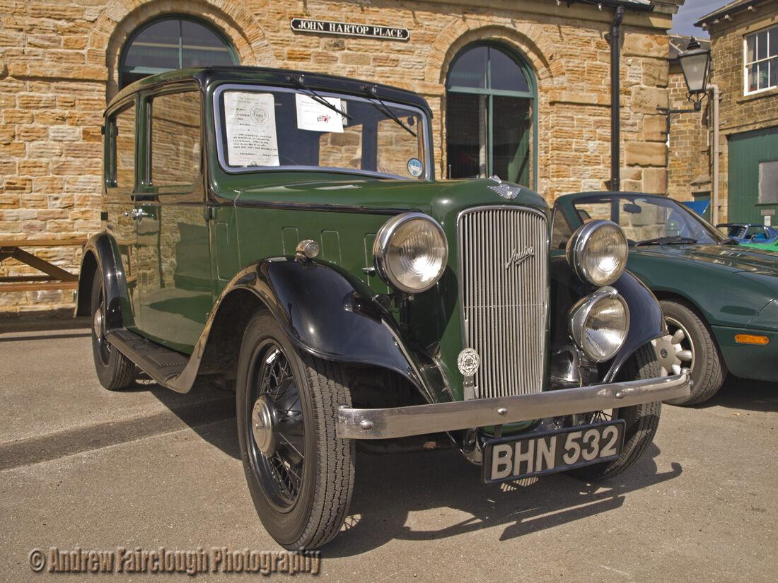Austin Lichfield (1936) 4 door saloon car.