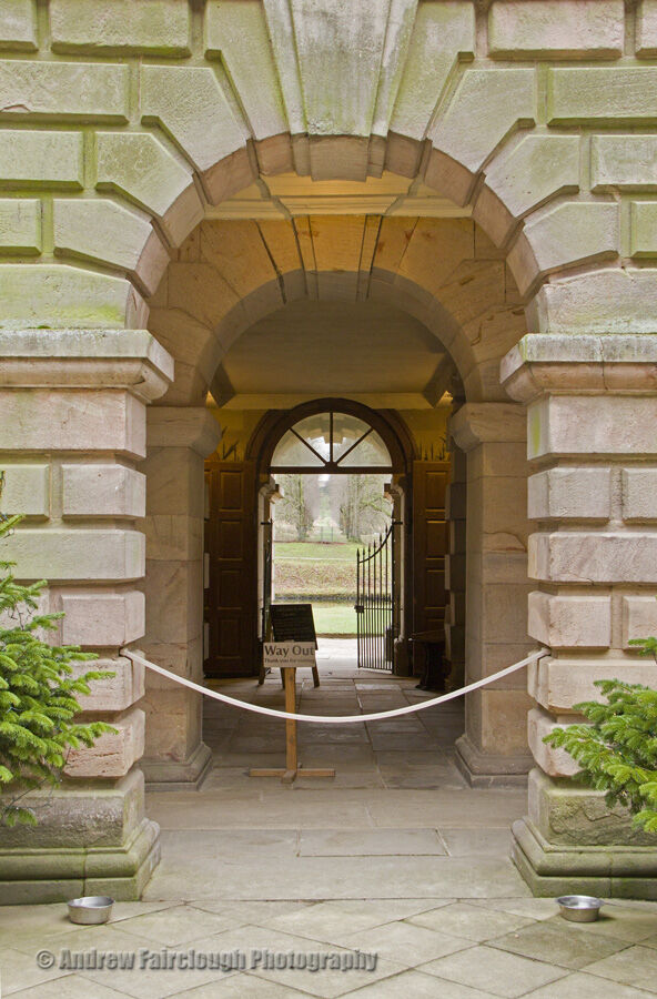 Entrance to the Pleasure Grounds - Lyme Park