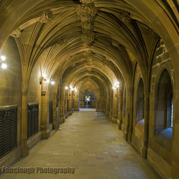 Entrance Corridor to John Rylands Library