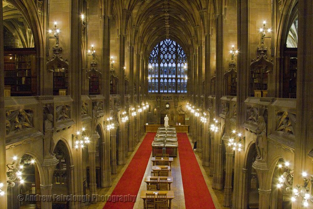 The historic reading Room - John Rylands Library