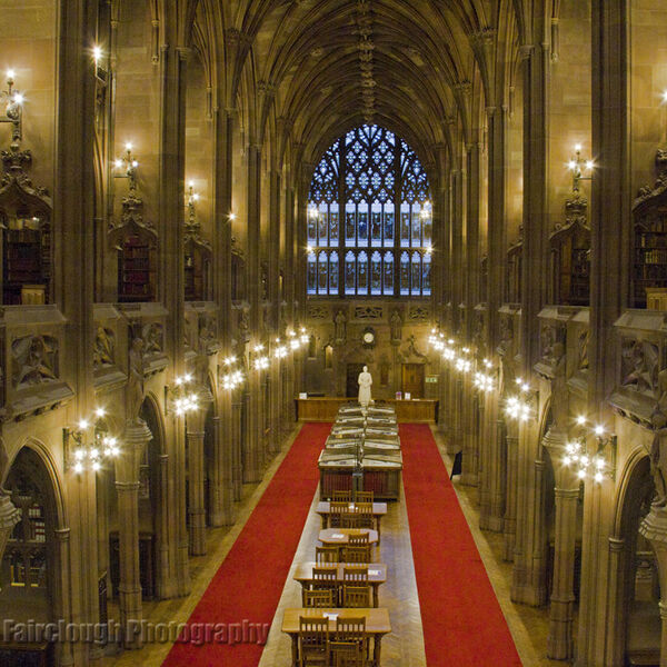 The historic reading Room - John Rylands Library