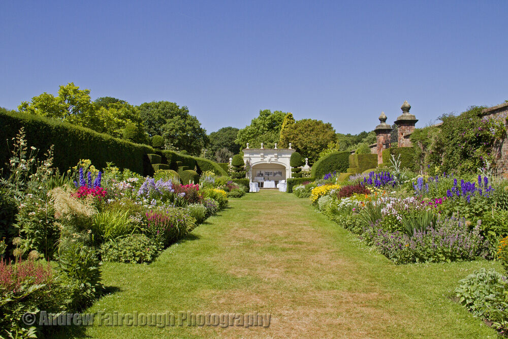 Herbaceous Borders and the Alcove
