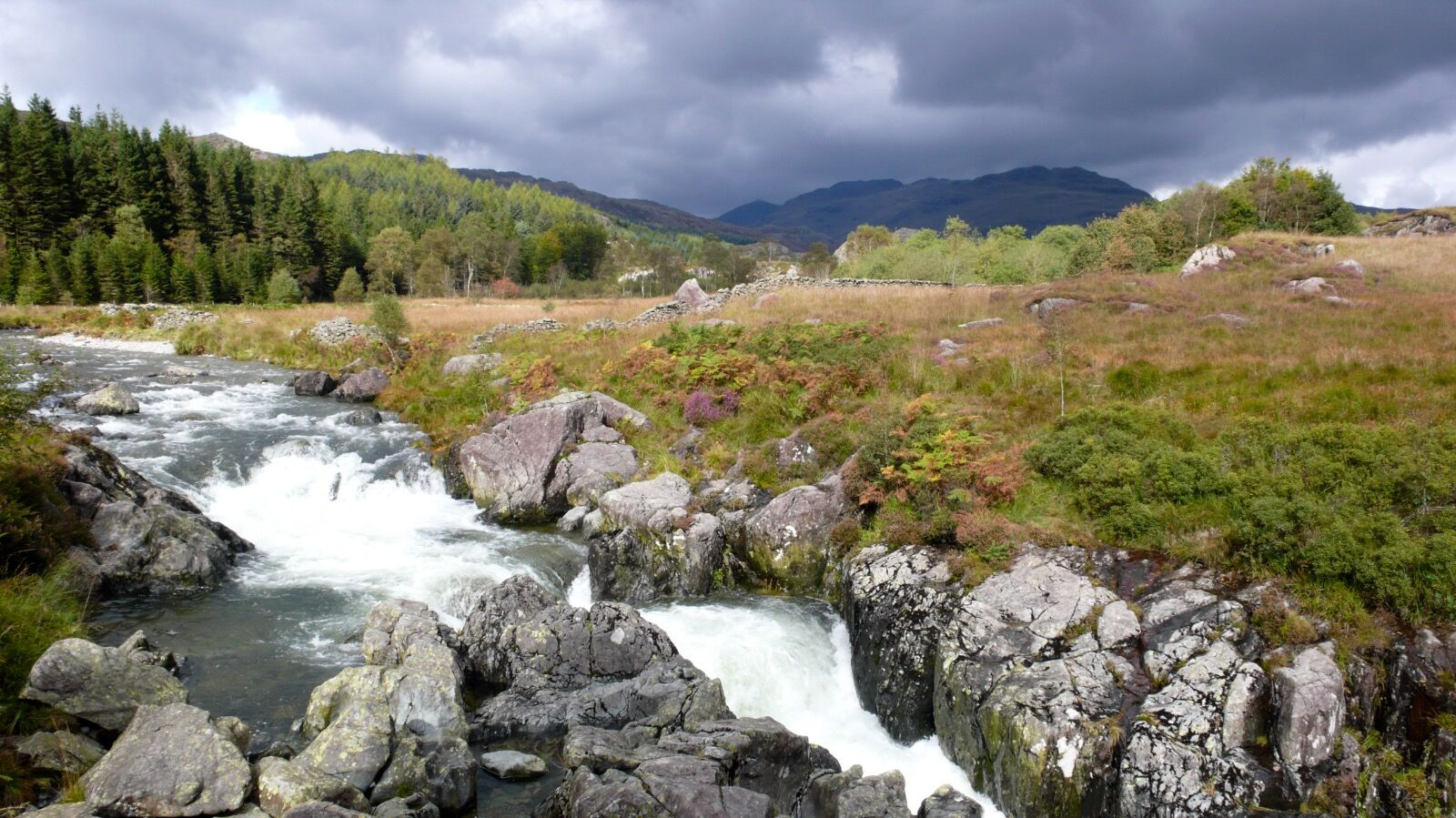 Storm Clouds over the River Duddon