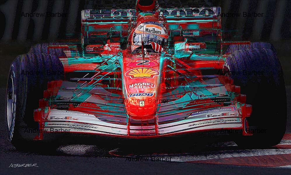 Rubens Barrichello Ferrari F2001 Japan 2001 ABI 110