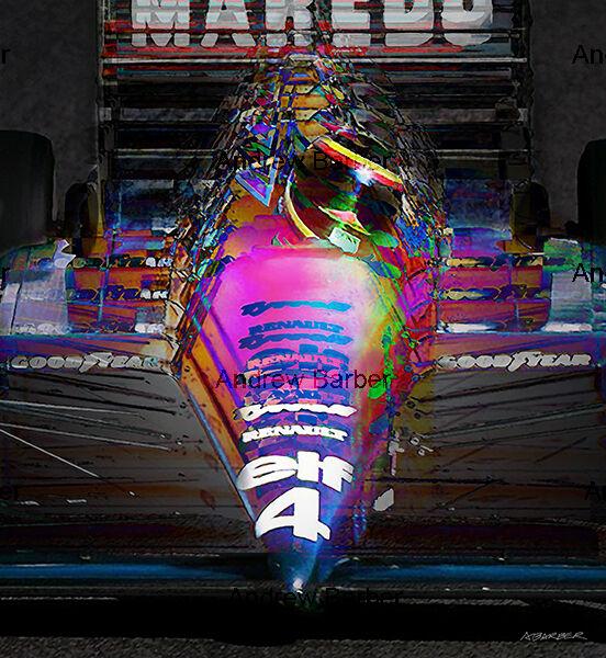 Stefan Bellof Tyrrell No4 ABI 187