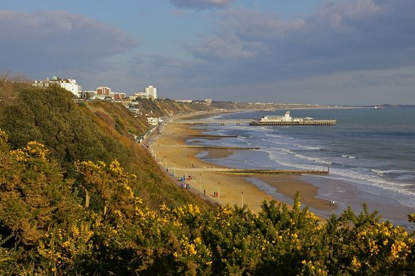 Bournemouth Beach and Pier