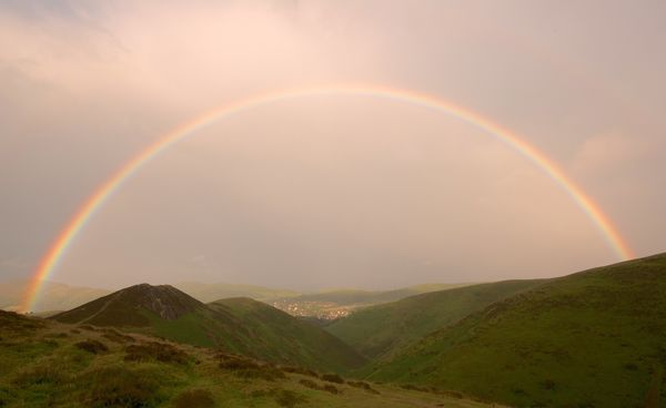 Rainbow over Church Stretton