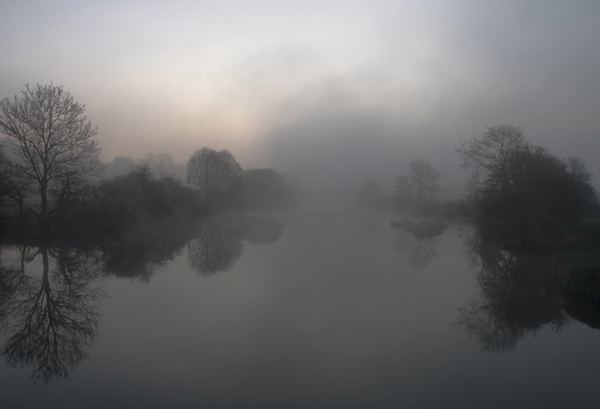 River Stour at Dawn.