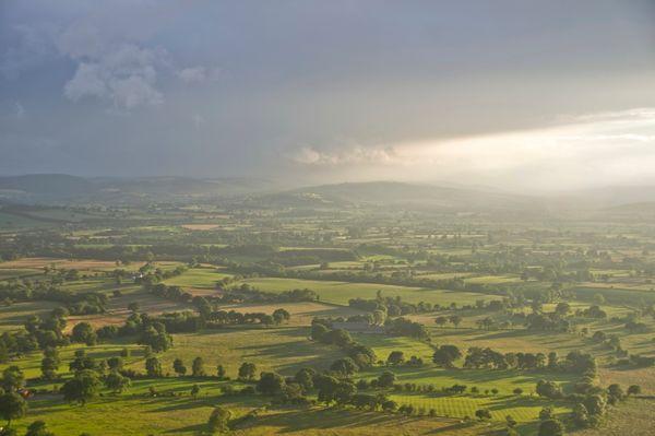 View from Shropshire Hills