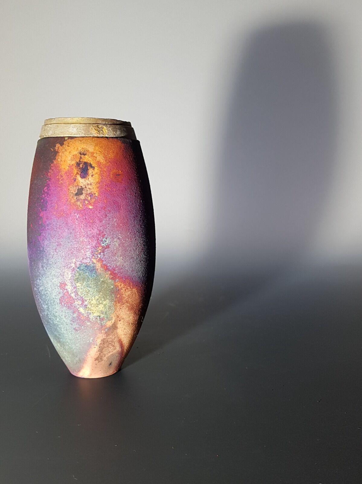 Conical form with ww1 shrapnel rim