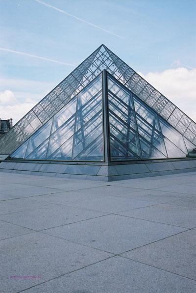 Paris - Louvre pyramids