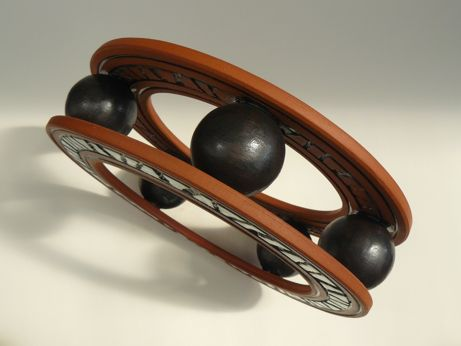 The Ball Race - View 2 - Handmade, hand-carved