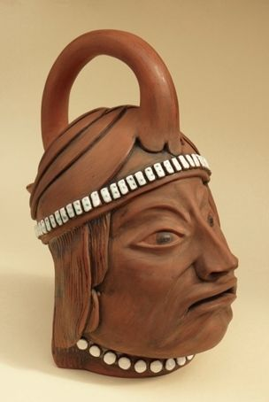 'Portrait Vase' - Hand-built, wheel-thrown and joined