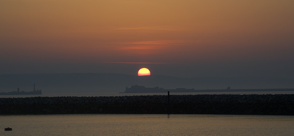 Early Morning At Portland Harbour