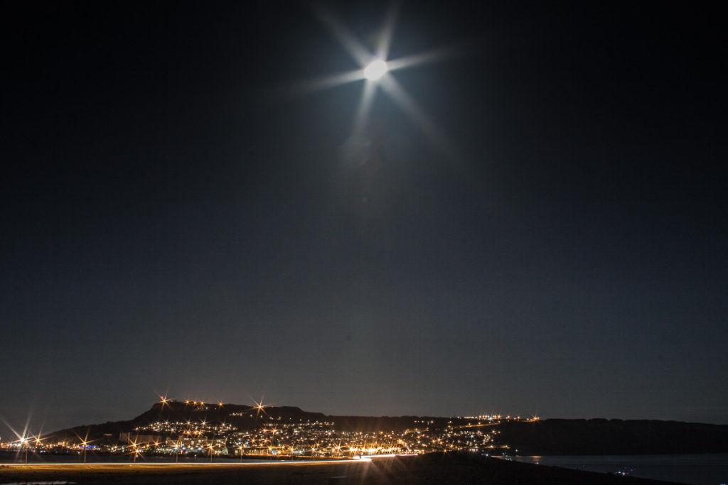Portland Moon