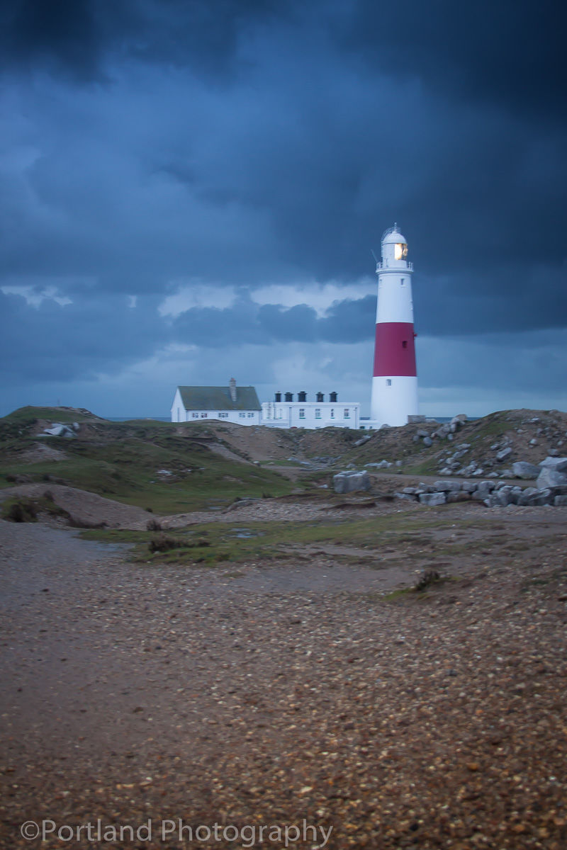 Storm Clouds Over The Bill Lighthouse