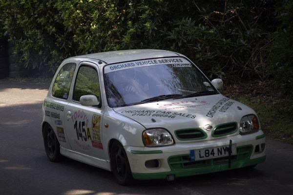 Nissan Micra driven by Ian Sydenham