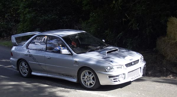 Subaru Imprezadriven by Nick Ellis
