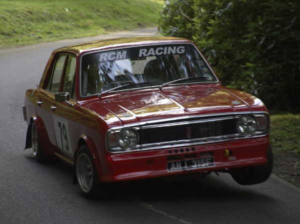 Ford Cortina GT driven by Craig Moore