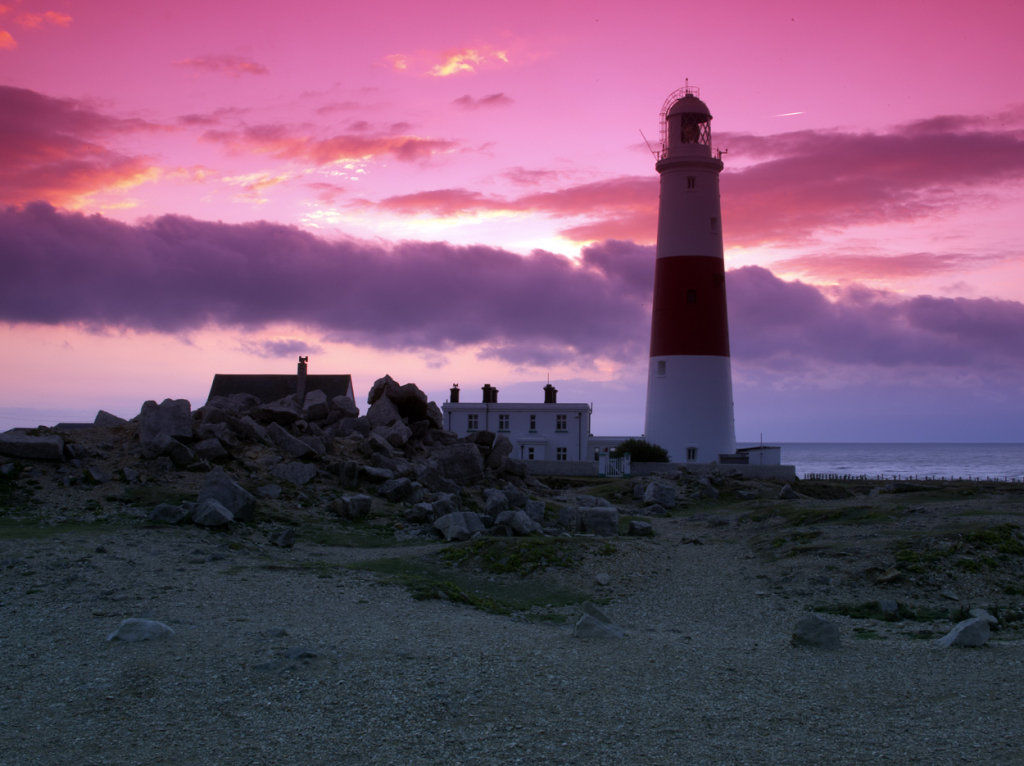 Portland Bill Lighthouse @ Sunrise