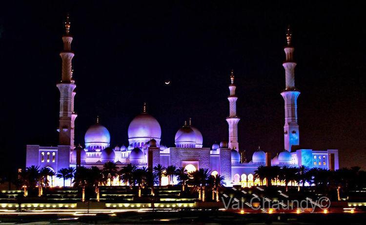 Moonlit Mosque
