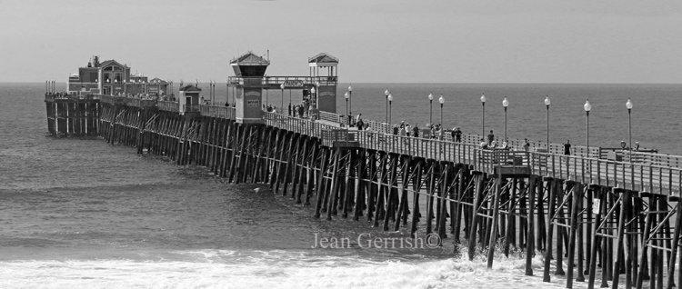 Oceanside Pier, San Diego.