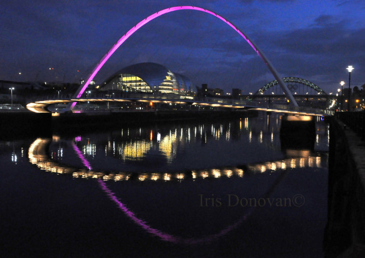 View On The River Tyne