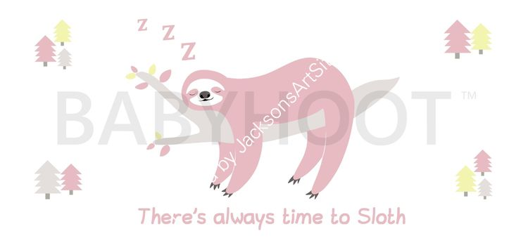 Pink Sloth