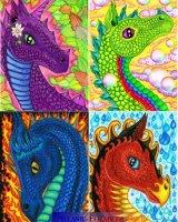 4 elements dragons