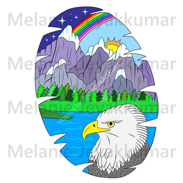 Eagle Mountain Scene