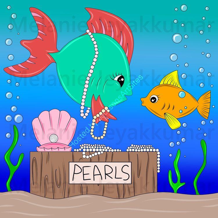 Fish pearls
